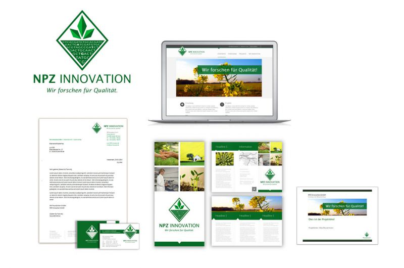 Corporate Design für NPZ Innovation